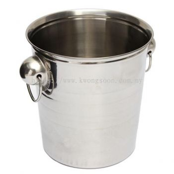 Stainless Steel Ice Punch Bucket Wine Beer Champagne Cooler