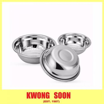 Stainless Steel Bowl Silver Bowl Stainless Steel Basin