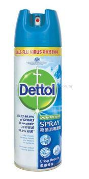Dettol Disinfectant Spray Crisp Breeze ��¶ɱ������ ��ζ