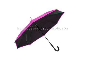 """U7024 - 23"""" Crook Handle Umbrella"""
