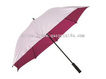 "U7028 - 30"" Silver Coated Umbrella"
