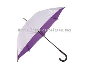 """U7029 - 24"""" Crook Handle Umbrella"""