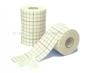 Wound dressing adhesive tape roll