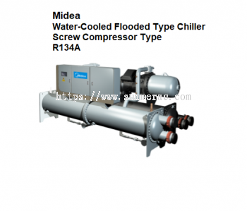 Midea Water-Cooled Flooded Type Screw Chiller