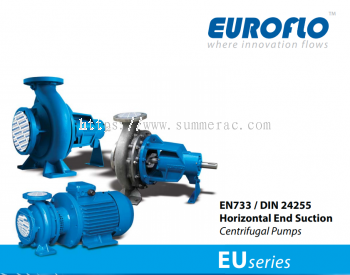 EU Series Horizontal End Suction