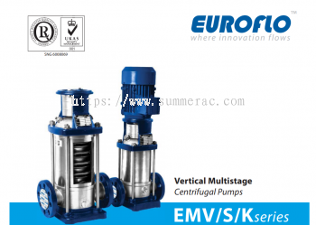 Euroflo EMV-S-K Series Multi-stage Pump