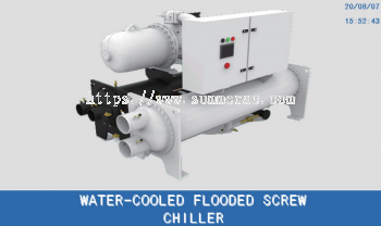 Tica Water-Cooled Flooded Screw Chiller