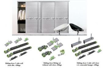 S5 Sliding Door Fitting Set
