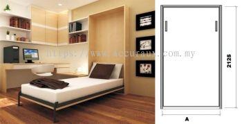 Bed Folding Hinge : Vertical