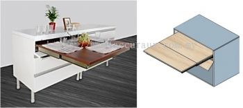 Pull Out Extension Table