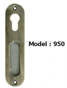 Recessed Handle With Hole Key