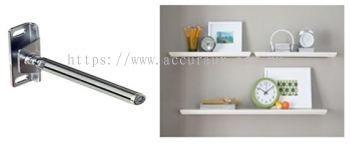 Concealed Wooden Shelves Support