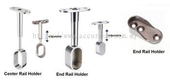 Adjustable Oval Rail Holder