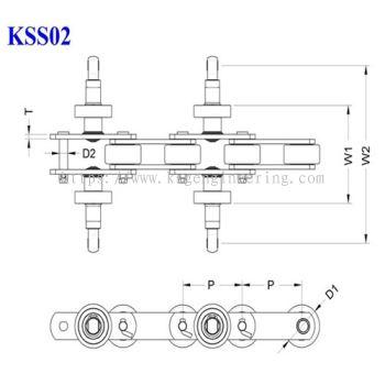 Single Former Conveyor Chain Housing Mode (KSS02)