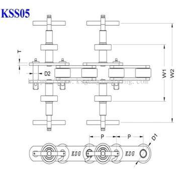 Double Former Conveyor Chain (KSS05)