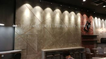 Commercial Design - Feature Wall Design