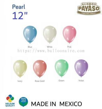 "12"" PEARL COLOR BALLOON"