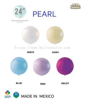 "24"" PEARL COLOR BALLOON (10 PCS/PKT)"
