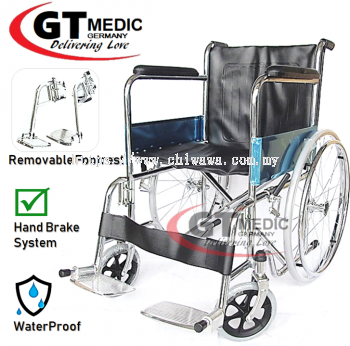 �� RM219.00 ��GT MEDIC GERMANY Ultra Lightweight Wheelchair Foldable Travel Transport Wheel Chair / Kerusi Roda Ringan
