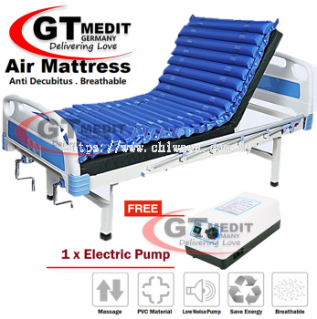 �� RM169.90��Alternating Pressure Inflatable Bubble Air Mattress Massage Bed + Electric Pump