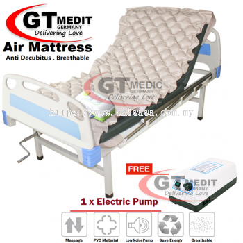 ��RM107.60 ��Ripple Strip Alternating Pressure Air Mattress Hospital Massage Sickbed + Pump