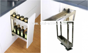 150MM 2 TIER MULTI-FUNCTION PULL OUT BASKET
