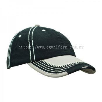 Rugged Cap (CP09E/108) (Black)