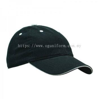 Stone Wash Cap (CP05E/95) (Black)