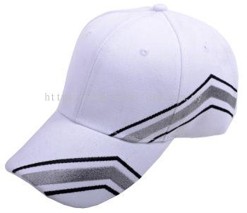 Wool Cap Design E (CW3R/87) (White)