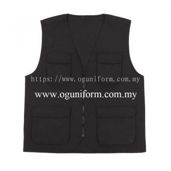 Safety Vest (VT03OS/291) Black (02)