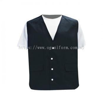 Working Vest (CV01E/241) Black (01)ES