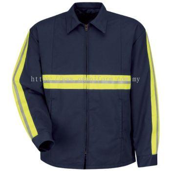 Enhanced Visibility Jacket (Navy Blue)