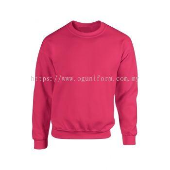 Unisex Long Sleeve Sweatshirt (G88000M-470) Heliconia (10C)G