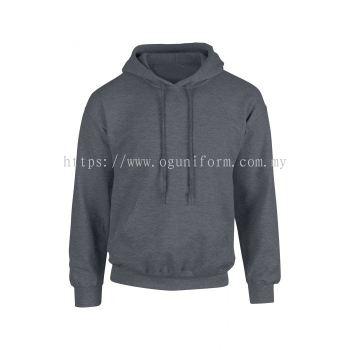 Unisex Hooded Sweatshirt (G88500M-521) Dark Heather (108C)G