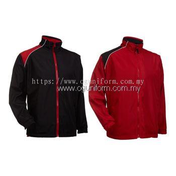 Unisex Reversible Jacket (WR03OS-562) Red Black (05)