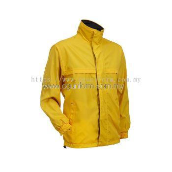Unisex Reversible Jacket (WR01OS-537) Yellow Black (04)