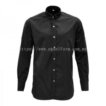 Unisex Custom Made Shirt (CU18E-458) Black (01)ES