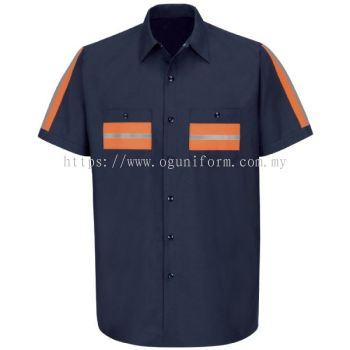 Enhanced Visibility Shirt (Navy Blue)