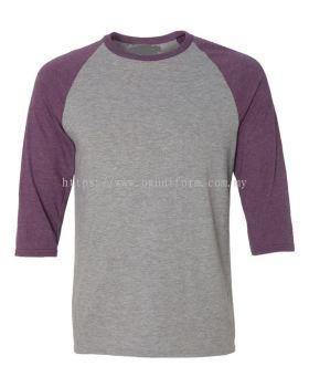 Unisex 3/4 Sleeve Tee-Shirt (A6755M/292)