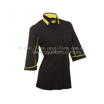 Female F1 Shirt (F121OS/325) Black(02)