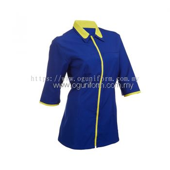 Female F1 Shirt (F123OS/355) Royal Blue(08)