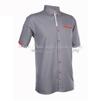Unisex F1 Shirt (F126OS/355) Dark Grey(24)