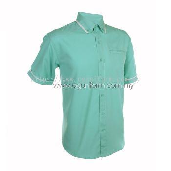 Unisex F1 Shirt (F130OS/355) Turquoise(17)