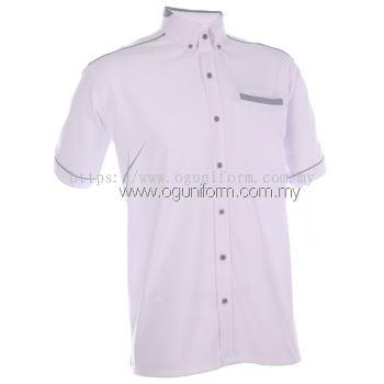 Unisex F1 Shirt (F134OS/392) White(00) BJ