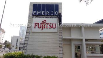 Fujitsu 3D LED SIGNBOARD