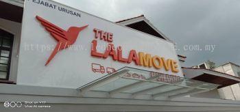Lalamove 3d aluminium Signboard