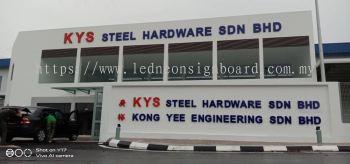 3d Aluminium Signboard @Nilai (KYS Steel Hardware Sdn Bhd)