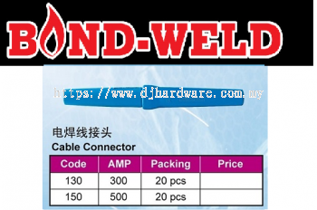 BOND WELD CABLE CONNECTOR (WS)