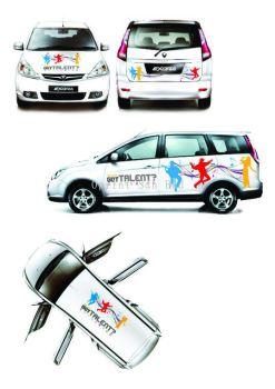 PC.Com Car Sticker 2