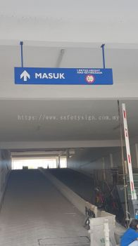 Carpark Aluminium Box Hanging Sign